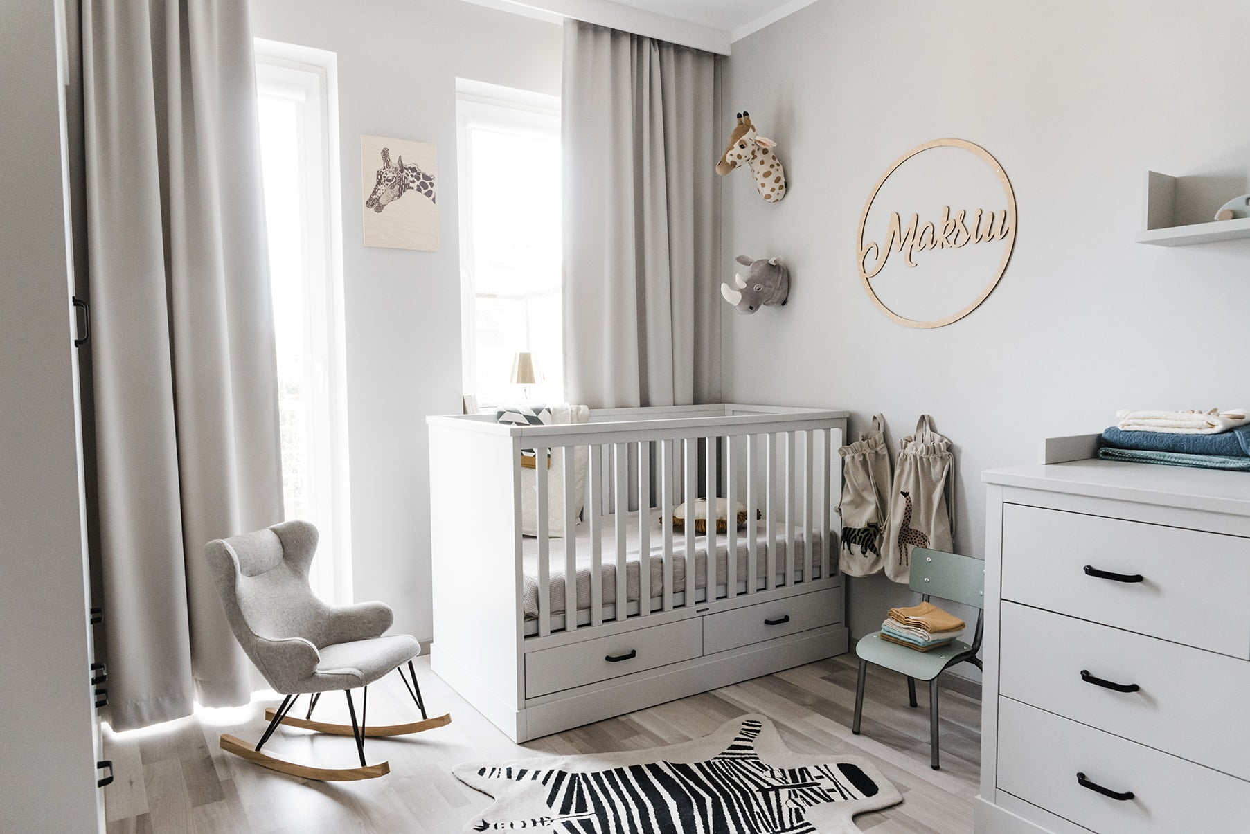 2-year-old room - how to decorate a child's room