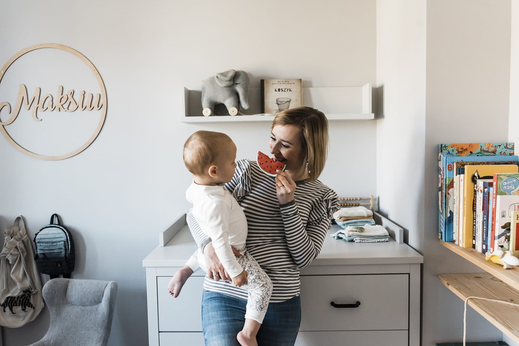 how to decorate a child's room - a two-year-old room