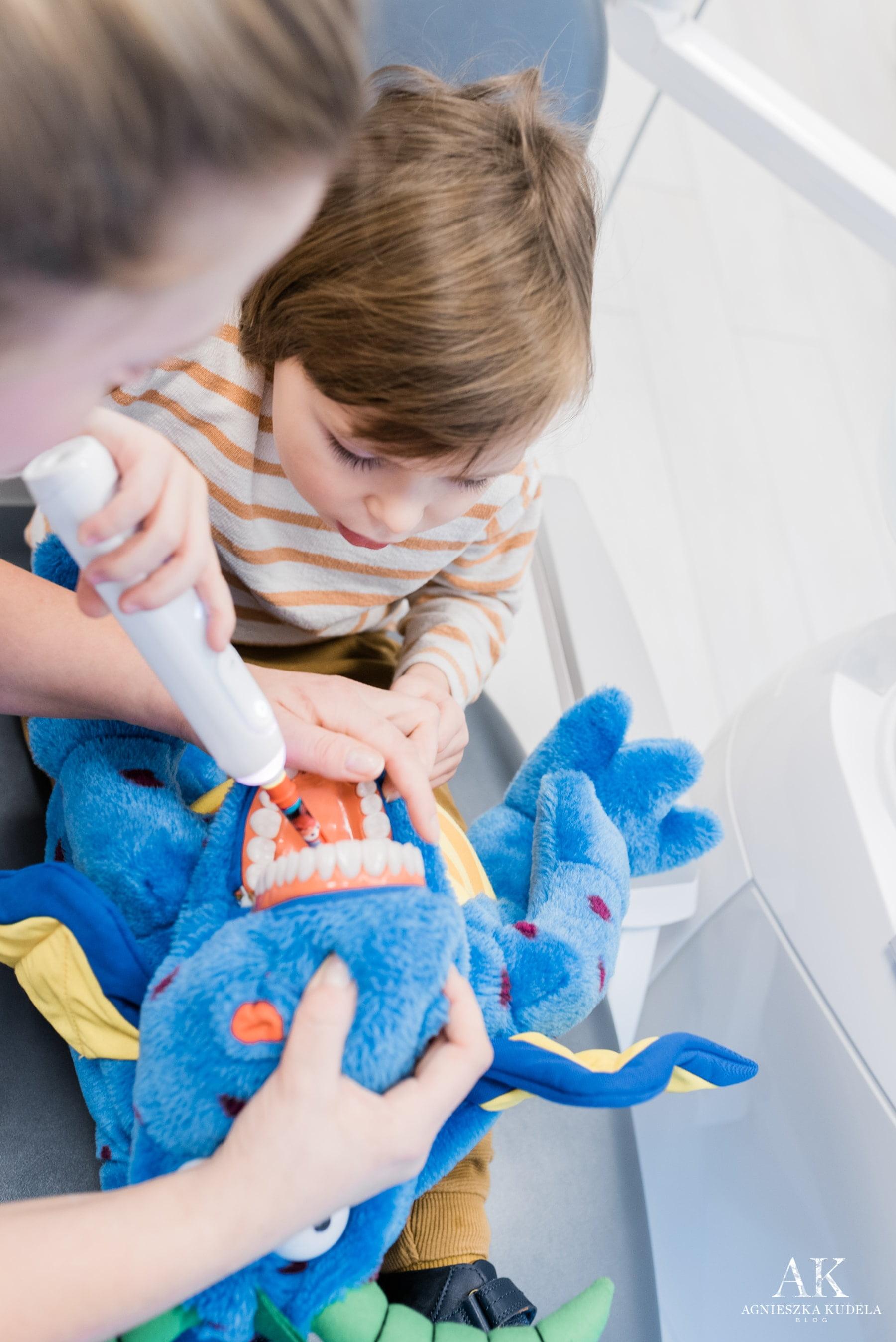 instrukcja mycia zębów dla dzieci