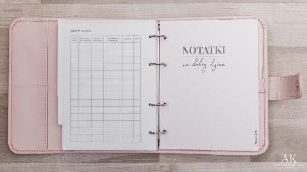 kalendarz planner na dobry dzień Agnieszka Kudela