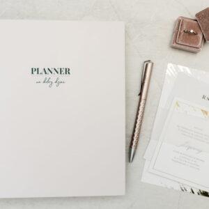 kalendarz planner 2020 pastelowy róż