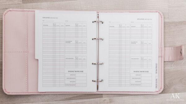 kalendarz planner 2020 planowanie wydatków