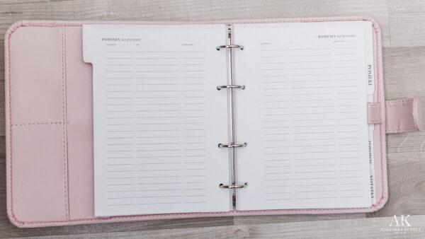 kalendarz planner 2020 pomysły na prezent