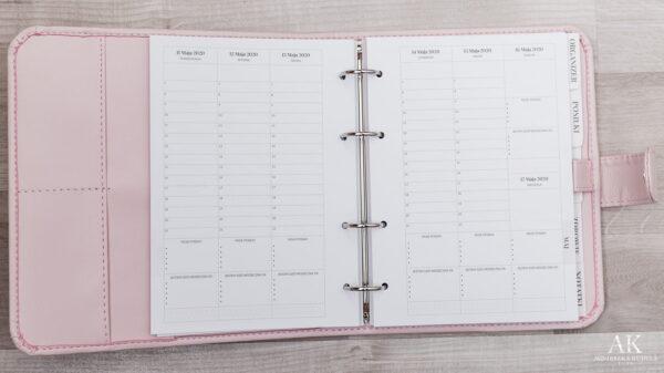 kalendarz planner 2020 tygodniowy