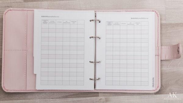 kalendarz planner 2020 badania profilaktyczne