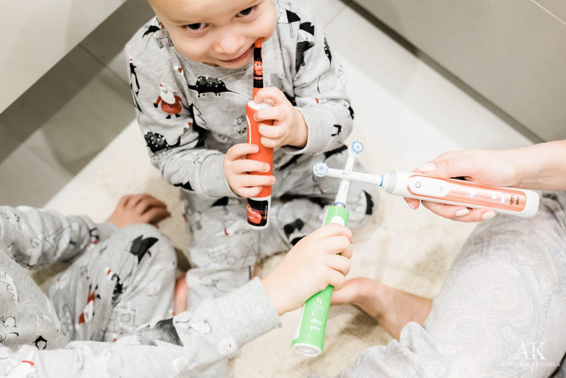 szczoteczka do zębów elektryczna dla dzieci