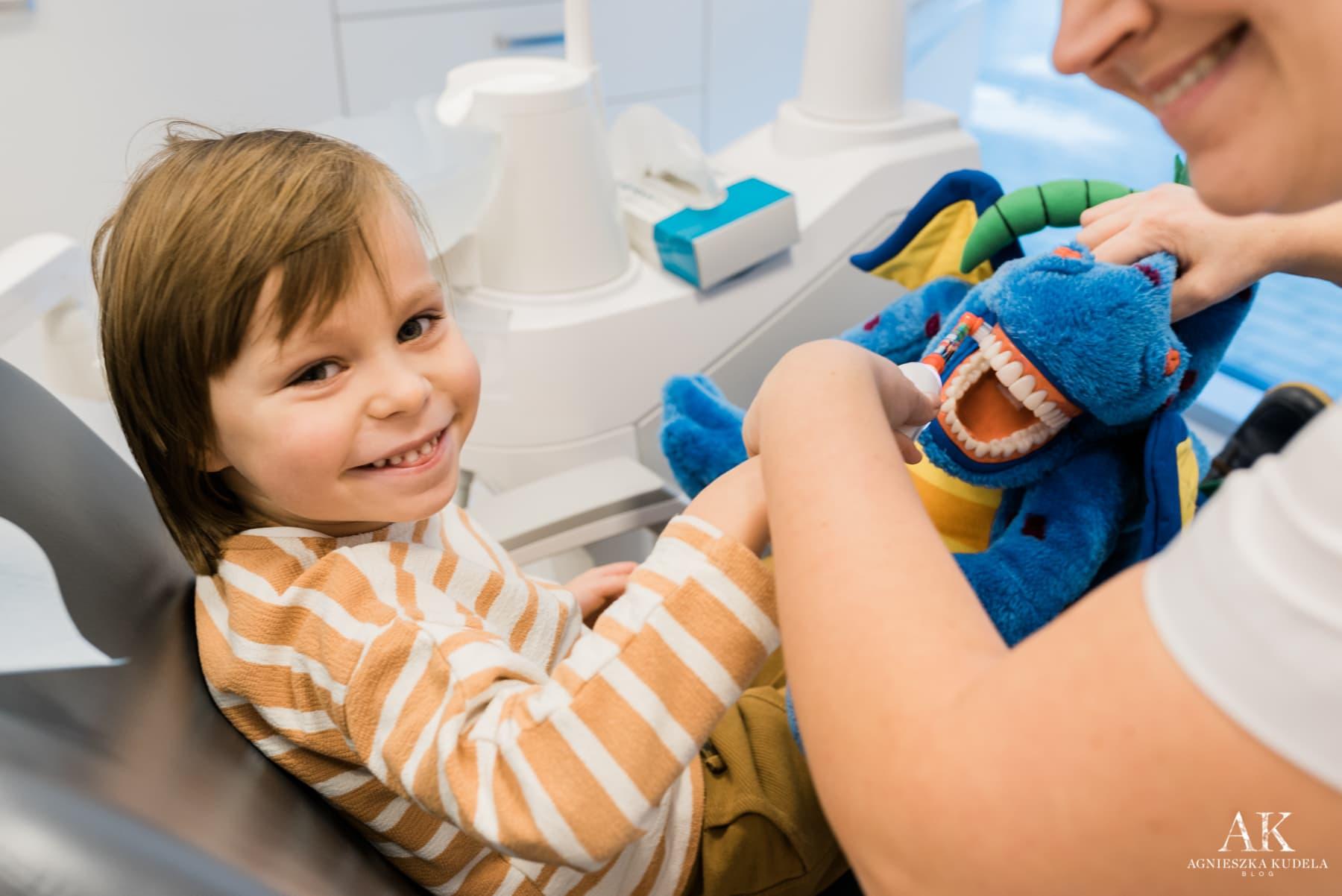technika mycia zębów u dzieci