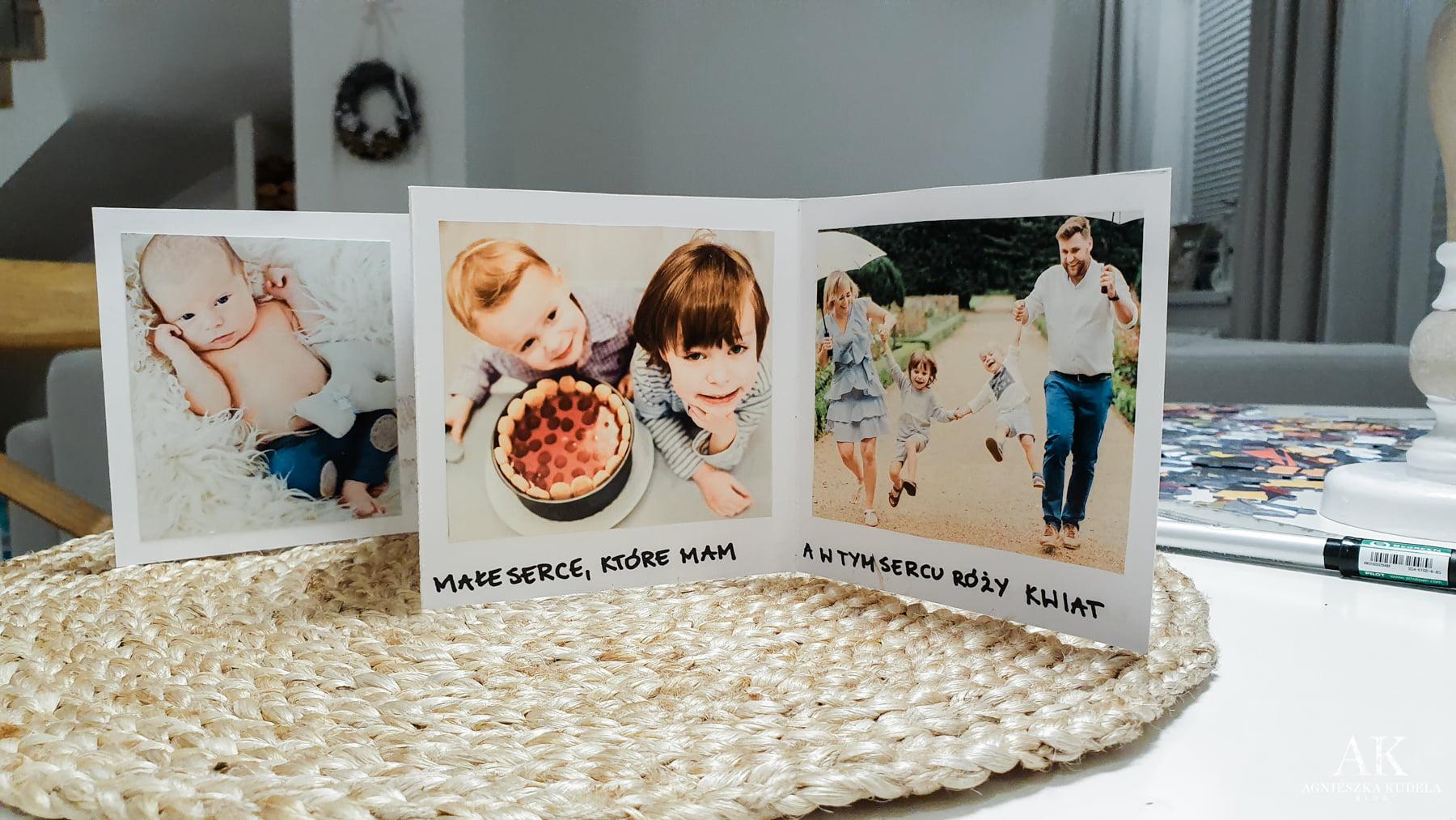 prezent na dzień babci i dziadka diy album zdjęć