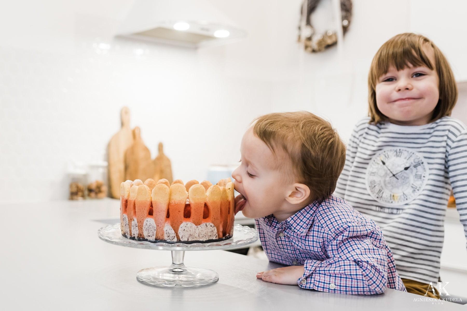 prezent na dzień babci i dziadka diy ciasto