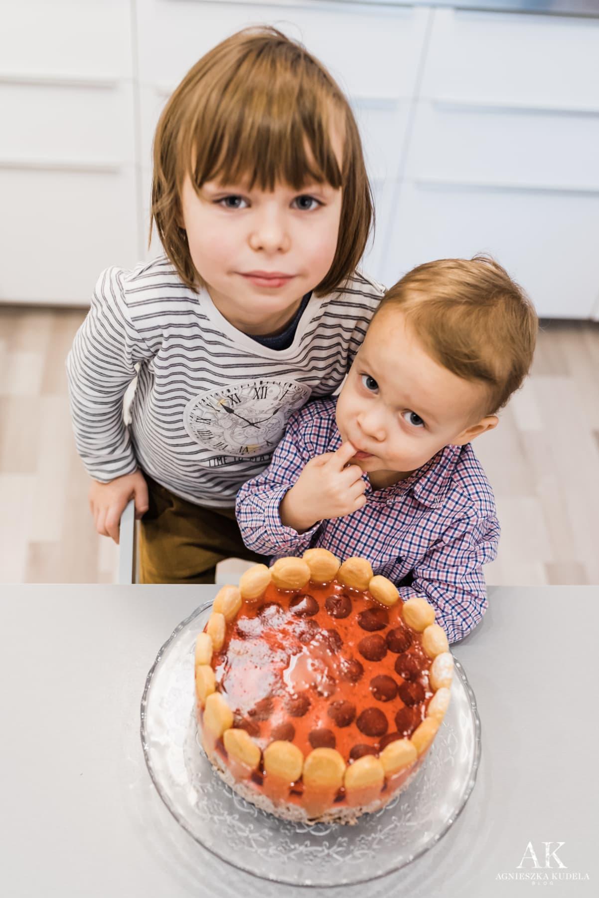 prezent na dzień babci i dziadka diy tort