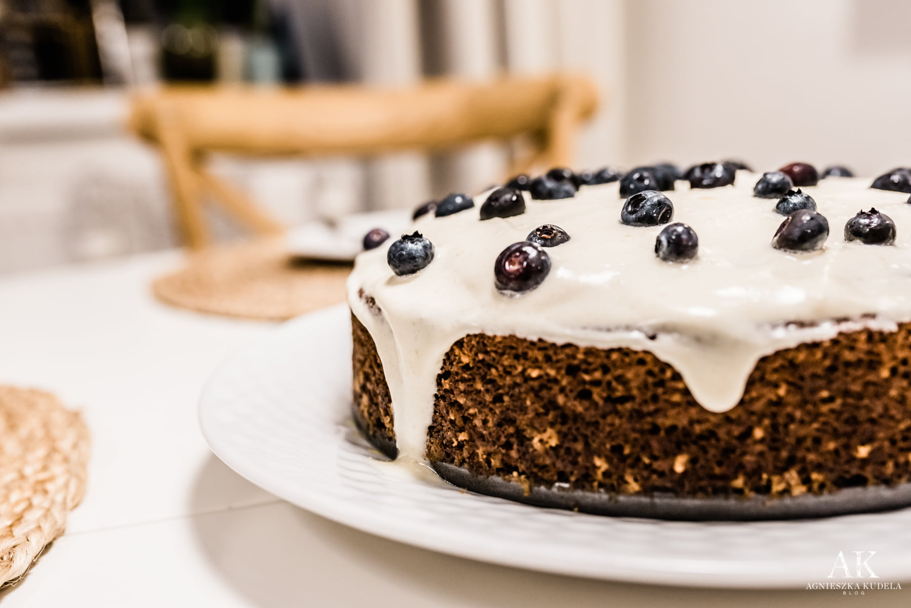 healthy food menu carrot cake