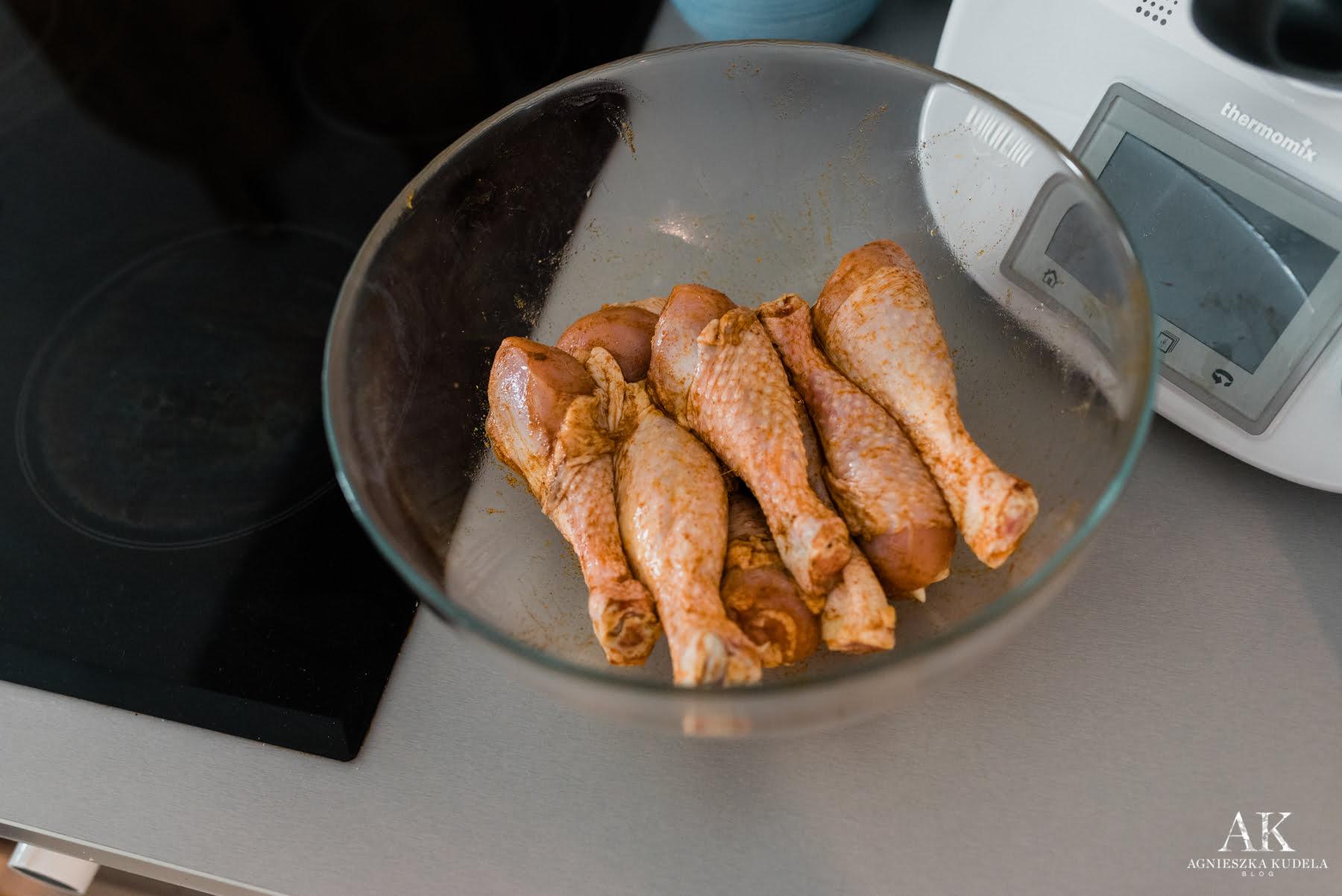 zdrowe jedzenie jadłospis kurczak