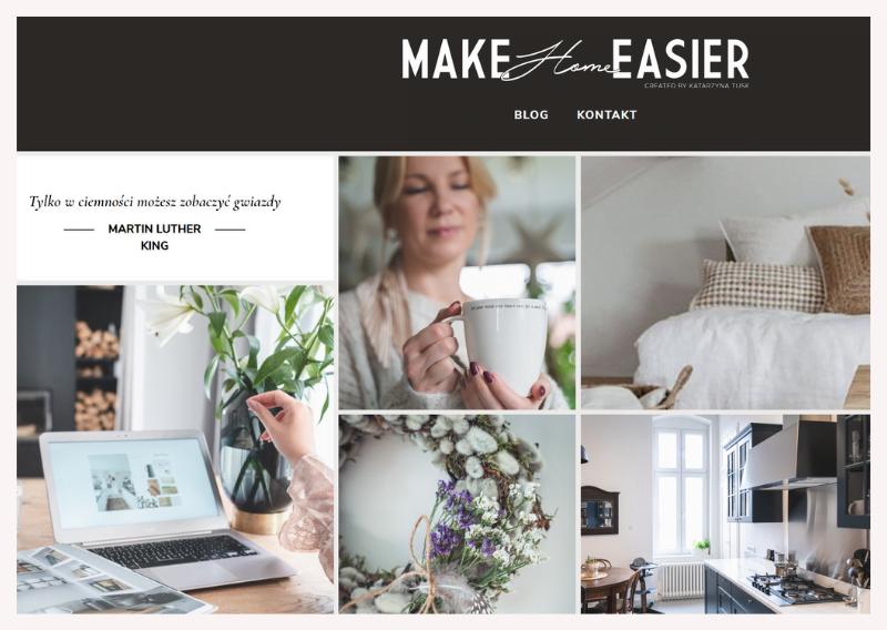 blogi wnetrzarskie Make Home Easier