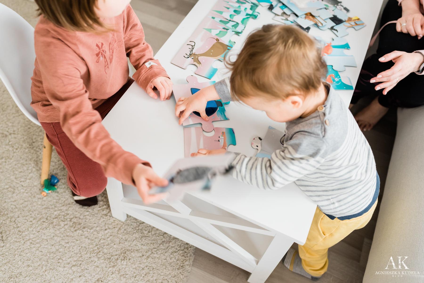 puzzle zabawki dla trzylatka