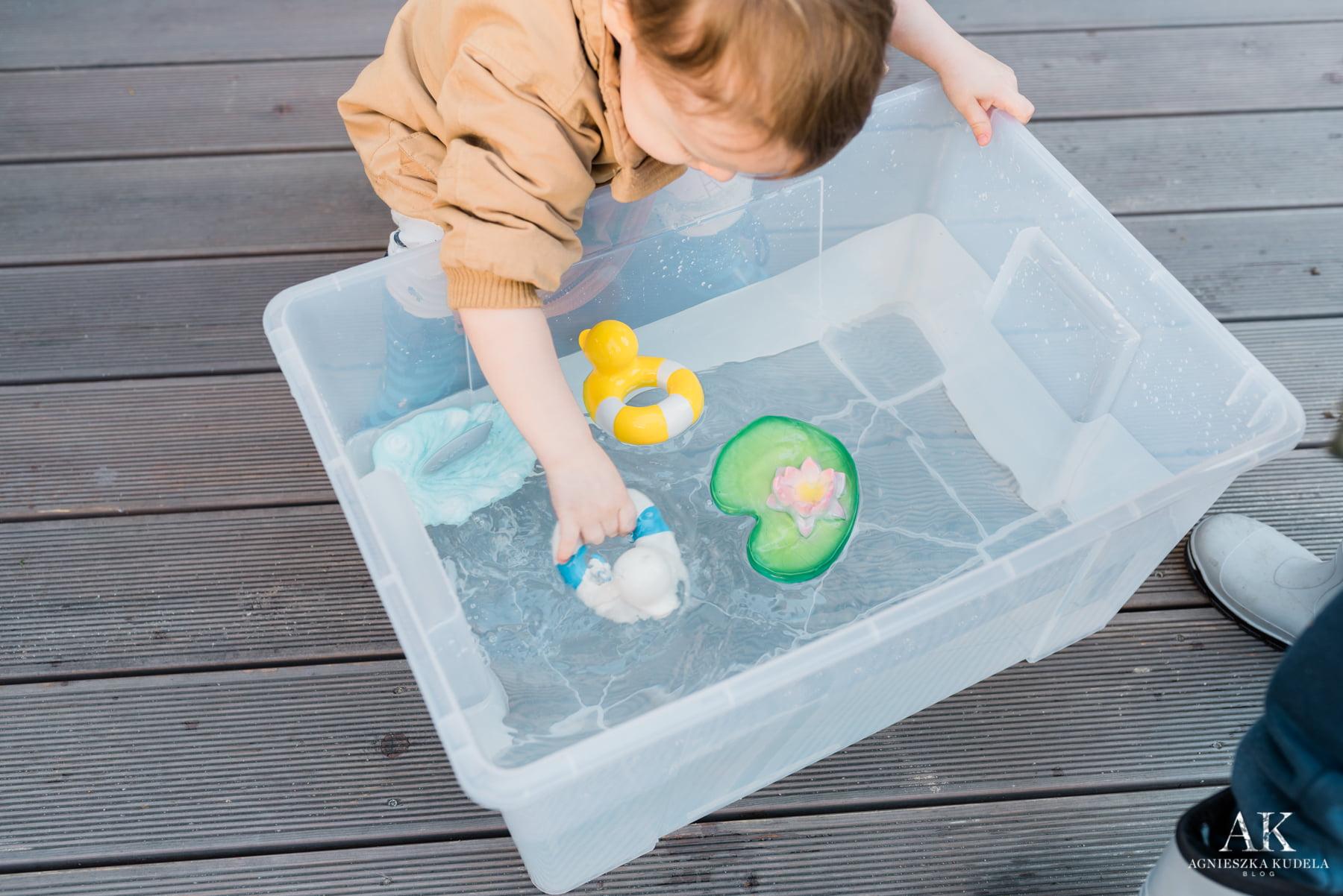 zabawki dla trzylatka do kąpieli