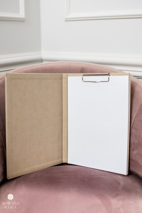 A4 document folder, beige