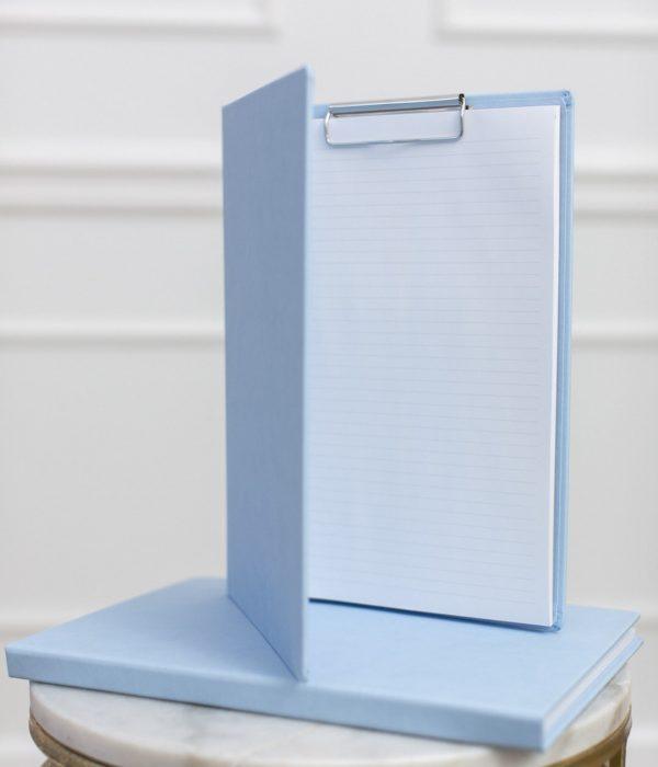 A4 blue document folder