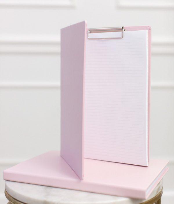 A4 document folder pink