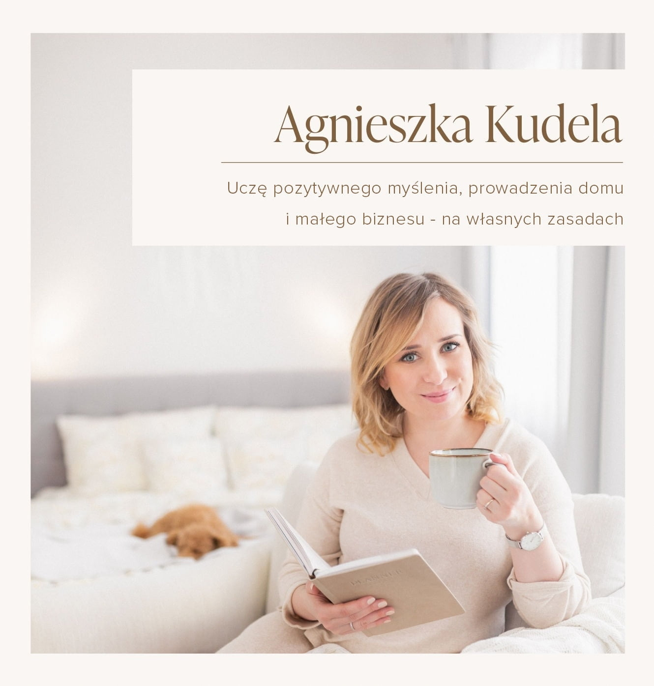 Agnieszka Kudela - I teach positive thinking